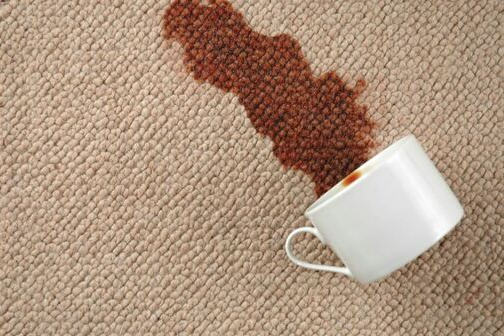 carpet stain in a home in bryant ar